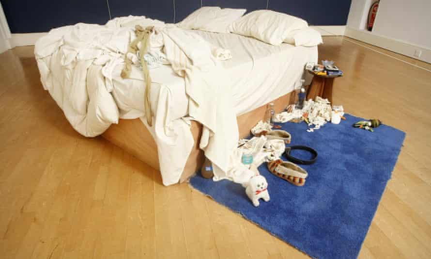 Tracy Emin's 'My Bed'.