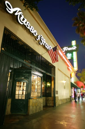 Musso & Frank Grill, Hollywood, CA