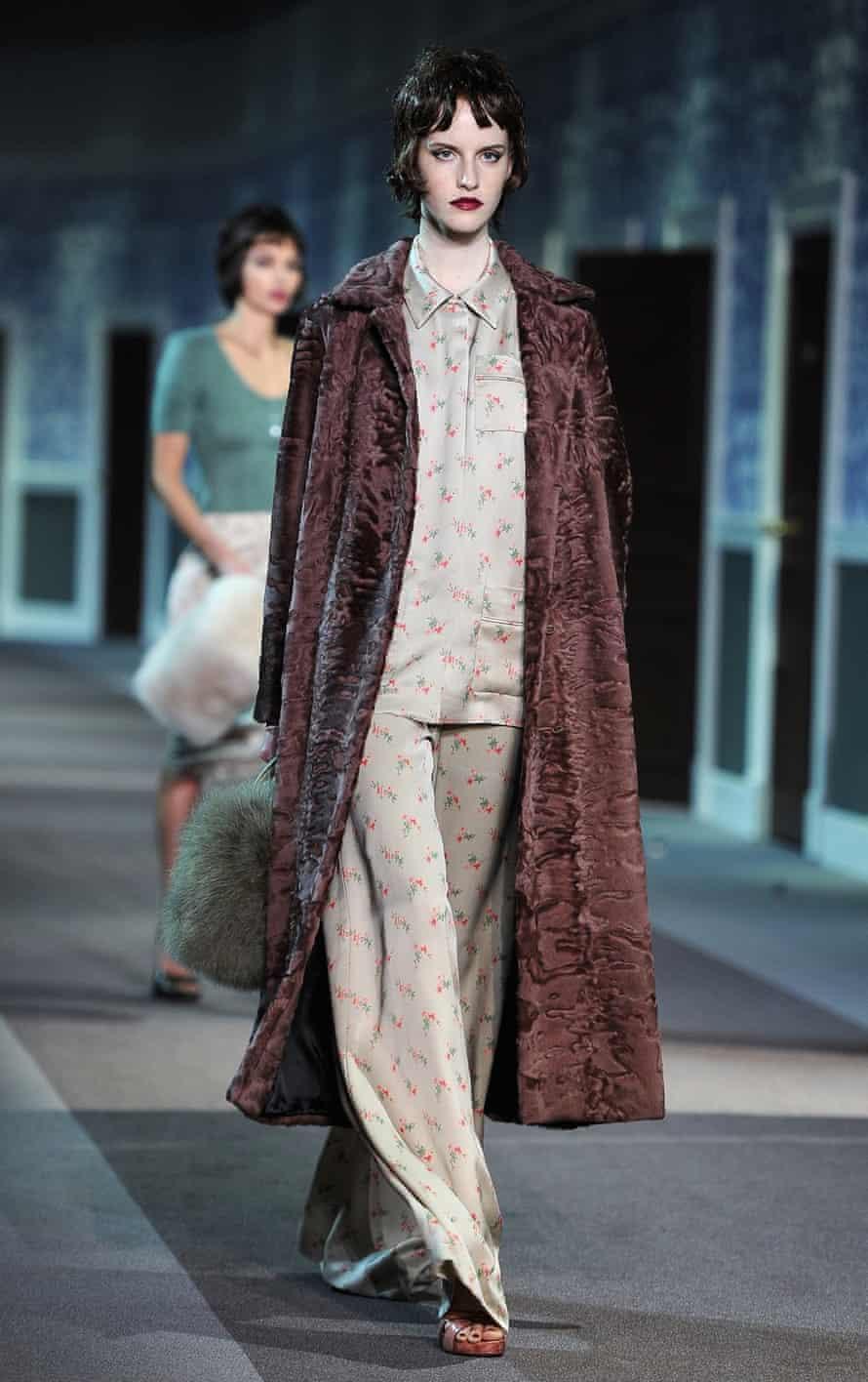 Louis Vuitton model