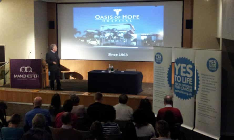 A Yes to Life seminar in Manchester on 'integrative medicine' for cancer.