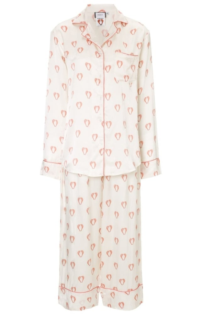 The pyjamas game – cosy elegance is back in time for winter lounging ...