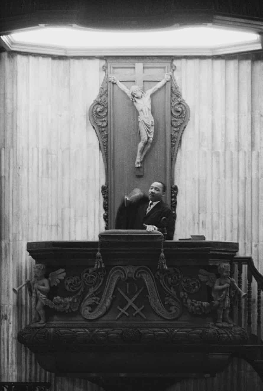 Martin Luther King St Paul's 6 December 1964