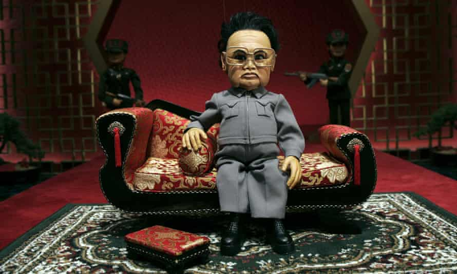 Kim Jong-il was ridiculed as a pathetic, isolated dictator in the film Team America.