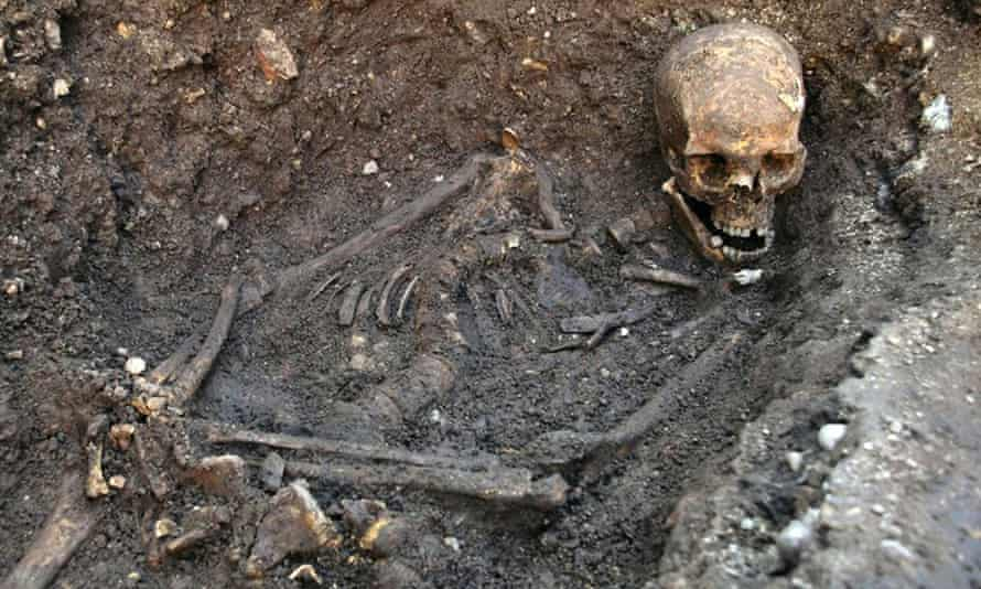 The skeleton found underneath a car park in Leicester in September 2012, which has been declared 'beyond reasonable doubt' to be that of King Richard III