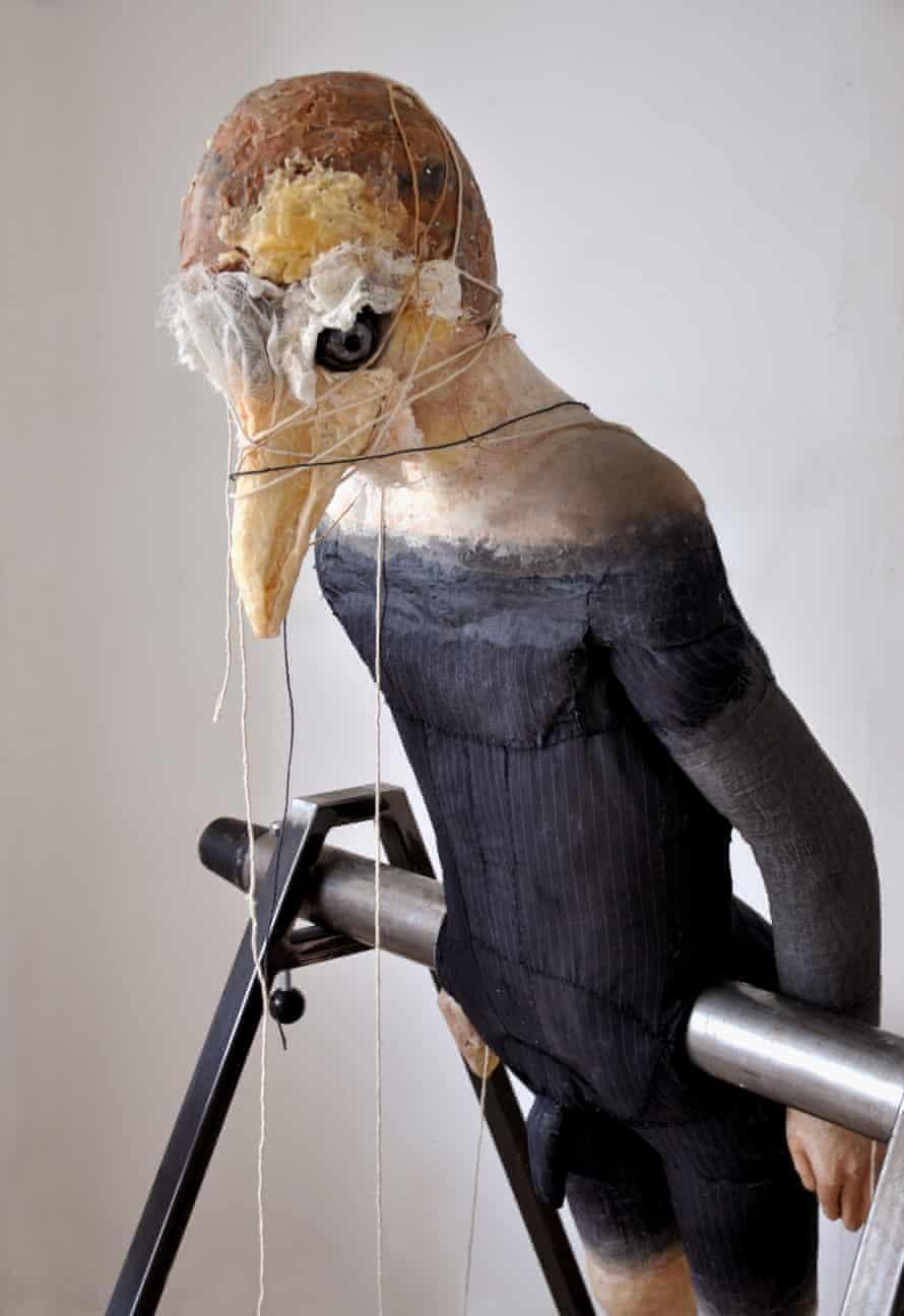 Narmine Sadeg Man-bird, 2014