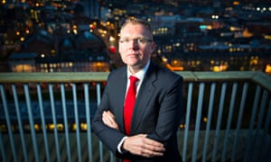 Nick Forbes, the leader of Newcastle city council, which is in the process of cutting its budget by