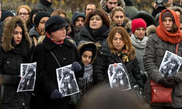 Rally for student Tuğçe