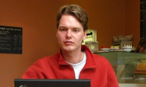 Janus Friis in 2003, when he was still working at Skype.