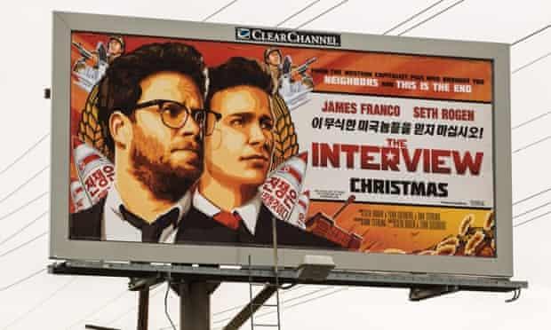 The Interview billboard