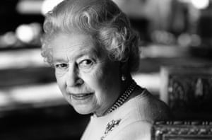 Queen Elizabeth, photographed for the Observer on 2006 for her 80th birthday. It was Jane's 80th birthday that same year