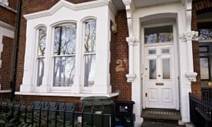 27 Rocks Lane, the former Elm Guest House, Barnes, London -17 Dec 2012