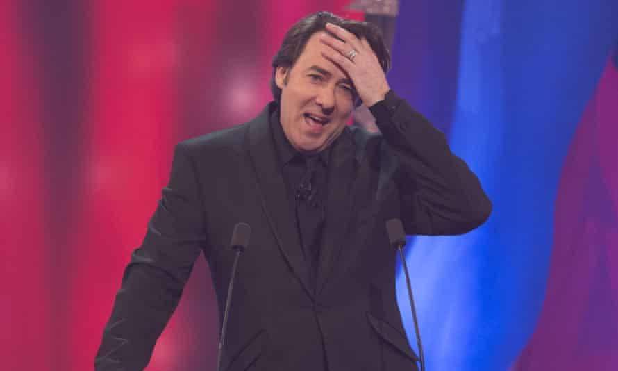 Jonathan Ross hosting the British comedy awards.