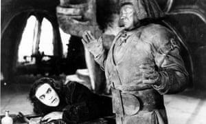 The Golem of Prague as depicted in the 1920 film Der Golem.