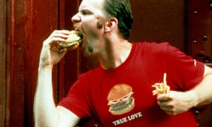 Morgan Spurlock, who made the documentary Super Size Me about McDonald's in 2004.