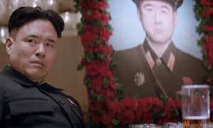 A still from the trailer for The Interview which is said to have offended North Korean leader Kim Jong-un.
