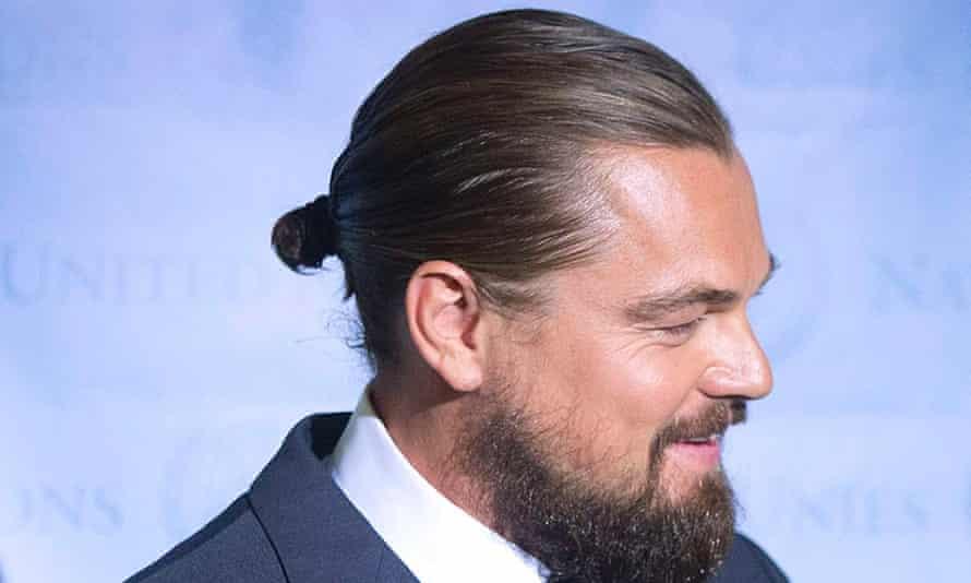 leonardo dicaprio hair