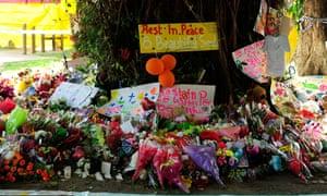 Cairns stabbing memorial