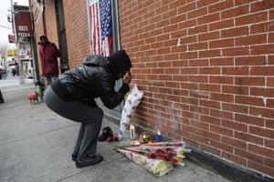 Brooklyn NYPD shrine