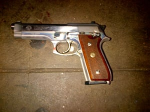 Brooklyn NYPD shooting weapon