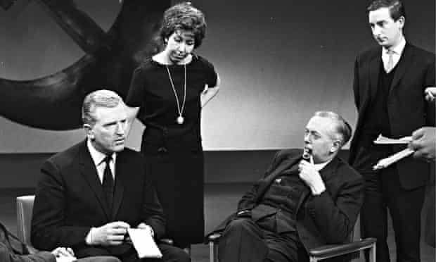 John Freeman with Harold Wilson