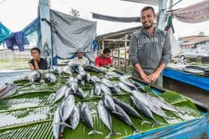 Azharuddin, 45, is a fish seller