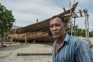 M. Noor, fisherman, Pidi