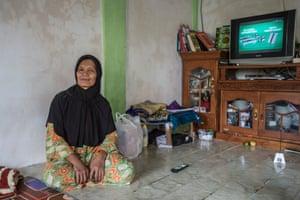 Mariati was at home when tsunami hit