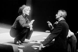Billie Whitelaw and Samuel Beckett