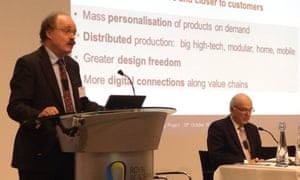 Government Chief Scientific Adviser Sir Mark Walport shares a stage with BIS Secretary of State Vince Cable. Are they singing from the same hymn sheet?