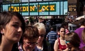 Camden Market owner joins stock market. Photo: Michael Kemp/In Pictures/Corbis