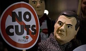Anti-austerity protest 2014