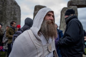 Revellers, Druids and pagans are drawn to the celebrations