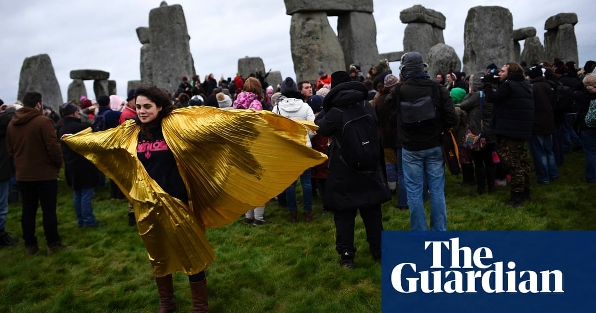 Winter solstice 2014: celebrations at Stonehenge – in pictures