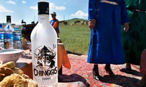 Hair of the dog, Mongolian style.