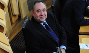Alex Salmond: soon to be seen in Westminster?