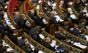 Ukraine's parliament. Photo: Sergii Kharchenko/NurPhoto/Corbis