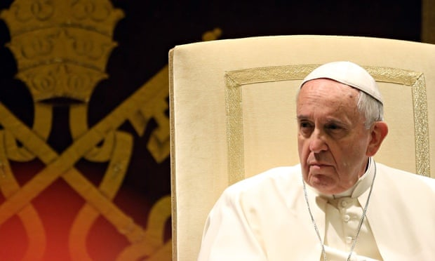 Pope Francis makes scathing critique of Vatican officials in Curia speech