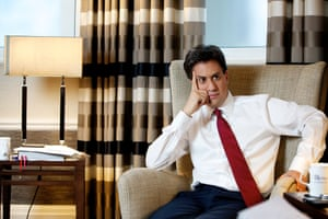 Labour leader Ed Miliband at the Midland Hotel in Manchester before the party's annual conference at Manchester Central, photography by Christopher Thomond