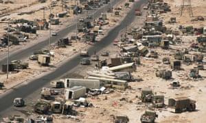Iraqi vehicles