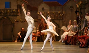 'The Covent Garden crowd cheered her home': Akane Takada with Matthew Golding after replacing Natalia Osipova in the Royal Ballet's Don Quixote.