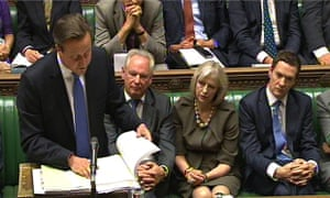 Prime Minister's Questions David Cameron