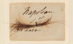A lock of Napoleon's hair