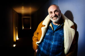 Danish actor Kim Bodnia, well-known for his role as Martin Rohde in the Scandinavian crime drama television series The Bridge photographed for Saturday feature by Linda Nylind