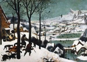 Bruegel the Elder Hunters in the Snow