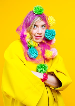 American musician tUnE-yArDs, real name Merrill Garbus, photographed by Graeme Robertson for the Guide in August