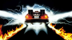 The title 10:04 references the moment the lightning strikes the clock tower in Back to the Future.