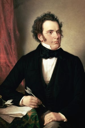 Schubert by Wilhelm August