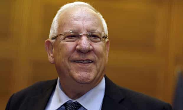Reuven Rivlin, Israeli presidentt
