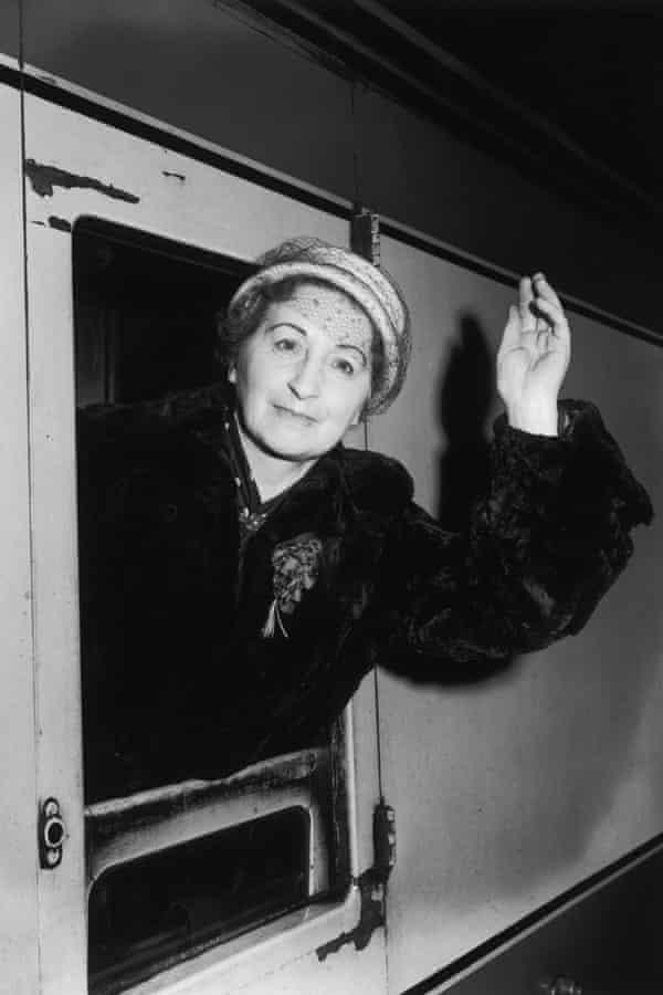 Vera Brittain in 1956.