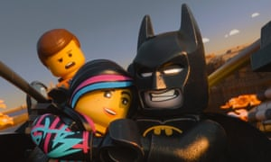 Box office heroes … The Lego Movie tops the 2014 chart.